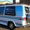Clearly Professional Window Cleaning Van