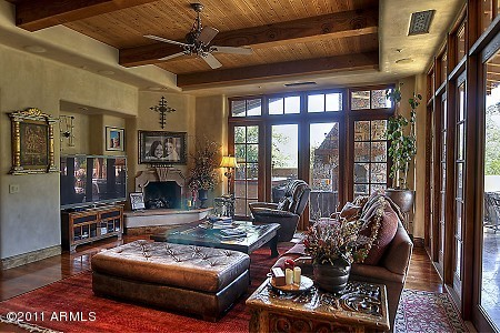 DC Ranch In Scottsdale Is Home To Many Beautiful Houses And I Look Forward Cleaning A Lot More Of The Windows There Main Living Room