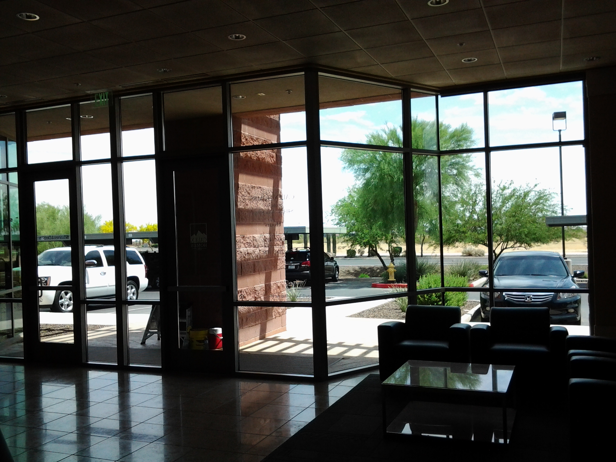 window cleaning scottsdale interior lobby windows scottsdale airpark window cleaning clearly professional