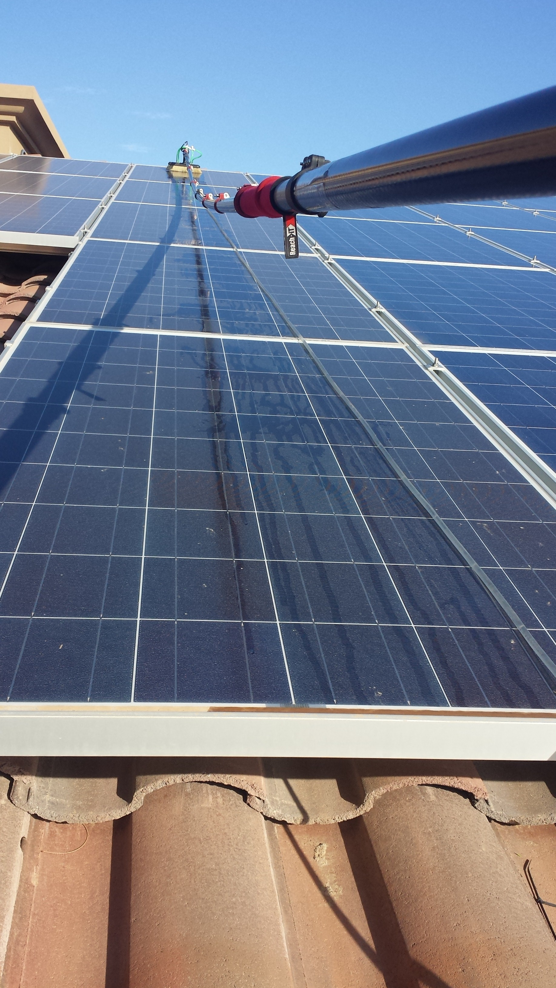 Solar Panel Cleaning Clearly Professional Window Cleaning