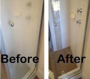 Does Your Shower Glass Look Like This Clearly Professional Window Cleaning